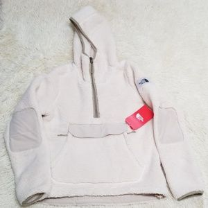 The North Face campshire hoodie sweatshirt jacket